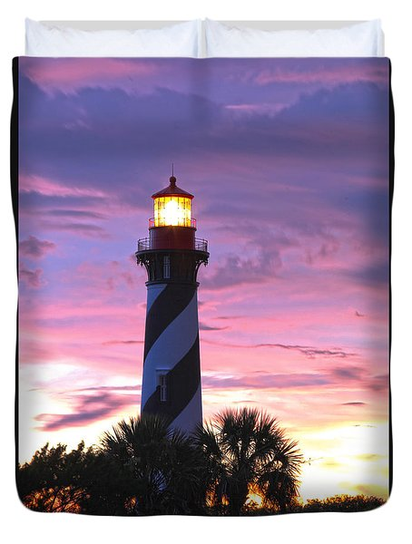 St. Augustine Light Duvet Cover