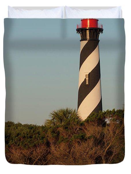 St. Augustine Lighthouse Duvet Cover