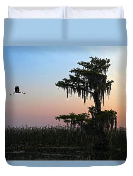 St Augustine Morning Duvet Cover