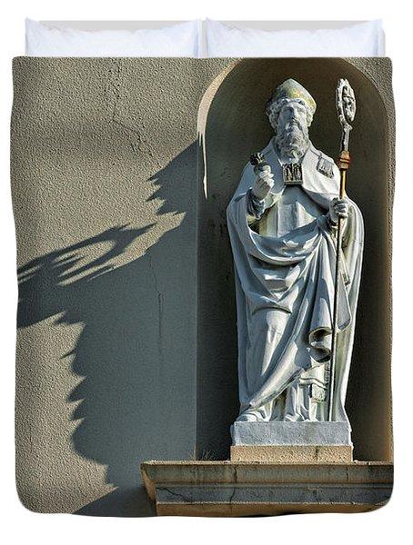 St. Augustine Of Hippo Duvet Cover
