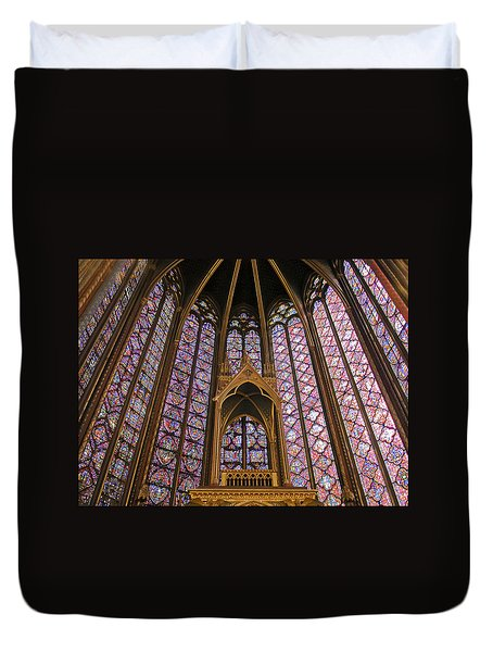 St Chapelle Paris Duvet Cover