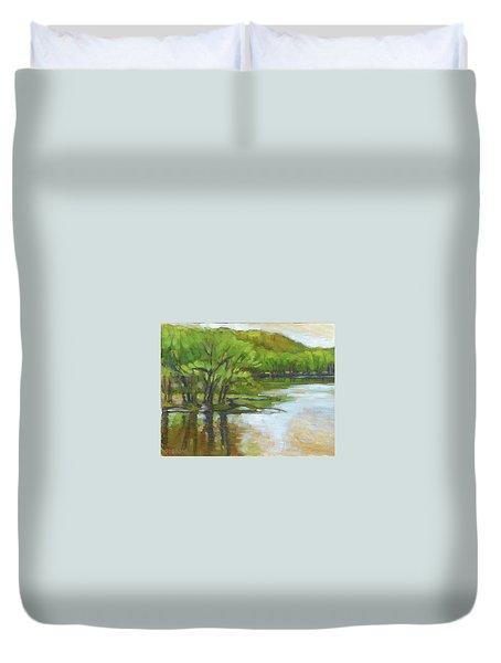 St. Croix, Spring Flood Duvet Cover