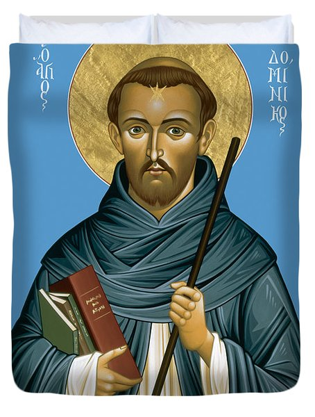 St. Dominic Guzman - Rldmg Duvet Cover
