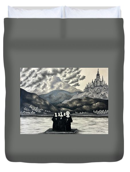 St. Franchea In Arran Duvet Cover