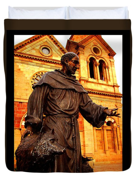 Cathedral Basilica Of St. Francis Of Assisi Duvet Cover