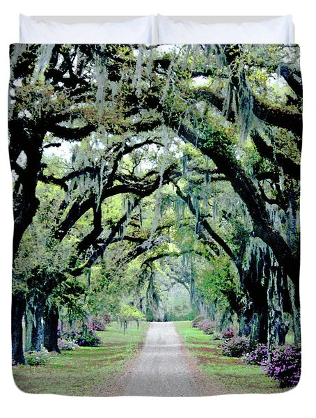 St Francisville Plantation Duvet Cover by Lizi Beard-Ward