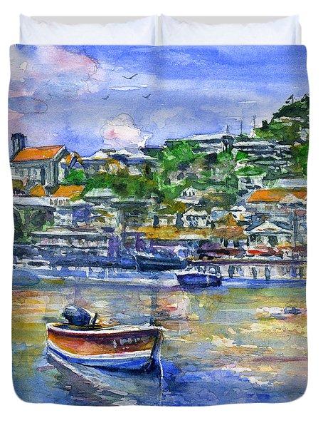 St. George Grenada Duvet Cover