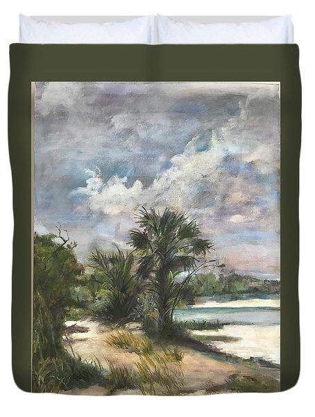 St. George Island Duvet Cover