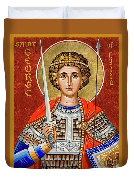 St. George Of Lydda - Jcgly Duvet Cover