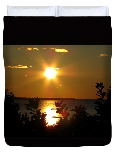 St. Helena Sunset Duvet Cover