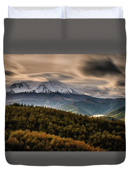 St. Helens Wrath Duvet Cover