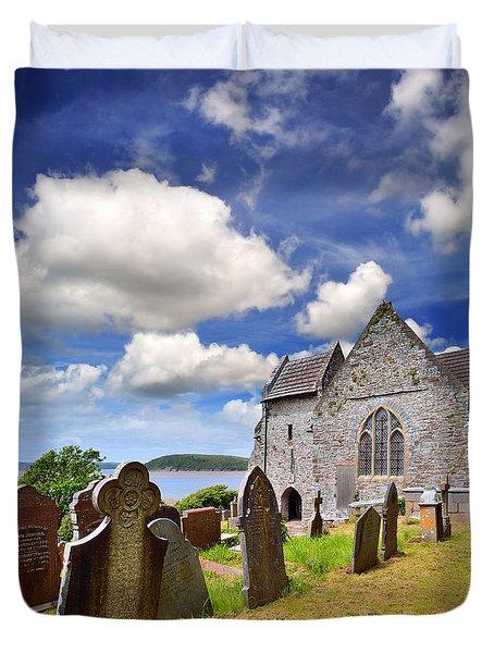 St Ishmael's Church Duvet Cover