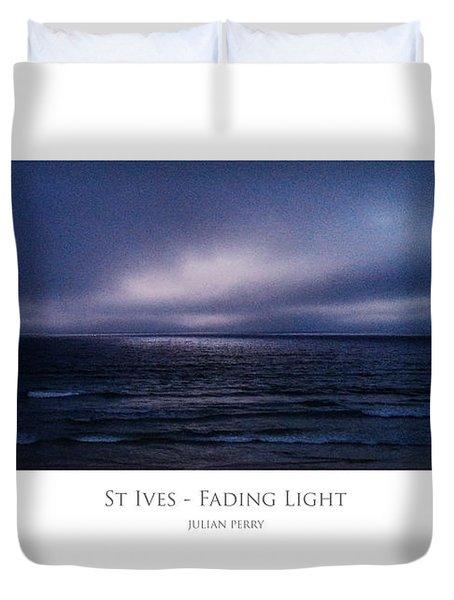 St Ives - Fading Light Duvet Cover