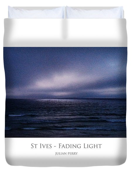 St Ives - Fading Light Duvet Cover
