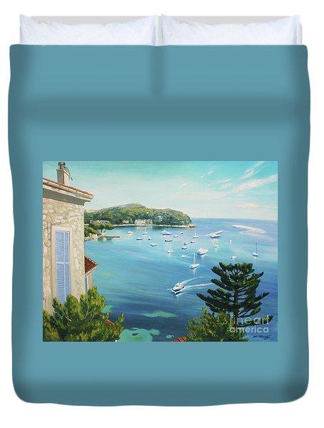 St Jean Cap Ferrat 2 Duvet Cover