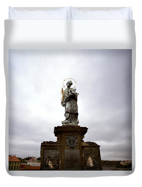 Saint John Of Nepomuk Duvet Cover