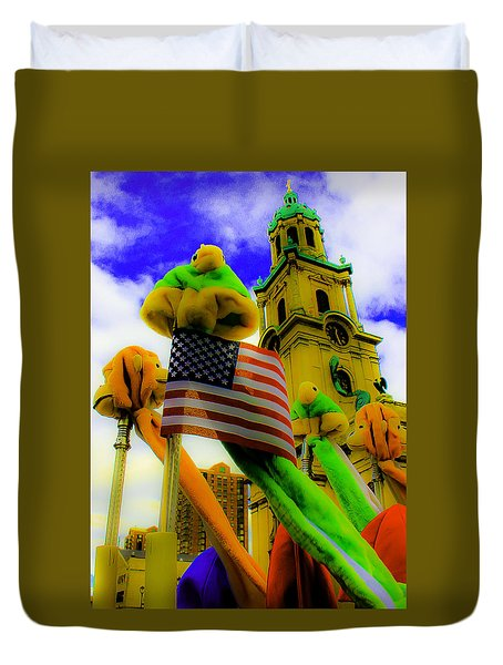 St. Johns America Duvet Cover