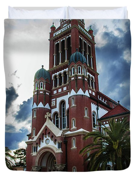 St. Johns Cathedral 1 Duvet Cover
