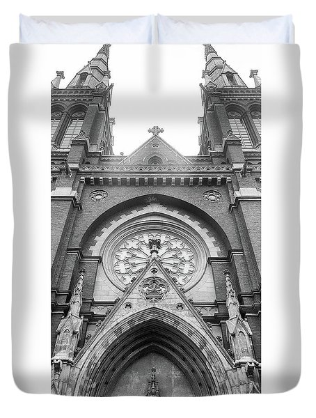 St. John's Cathedral In Helsinki, Finland. Duvet Cover