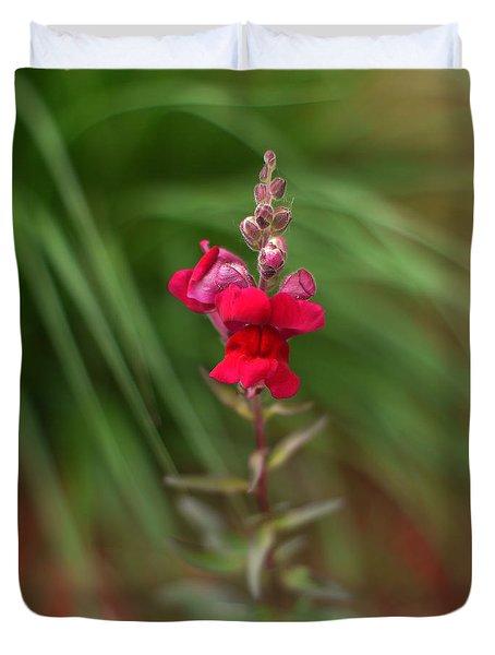 St. Johns Park Flower 872 Duvet Cover
