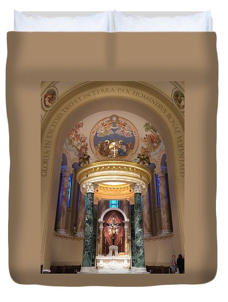 St. Joseph Cathedral-sioux Falls Sd Duvet Cover