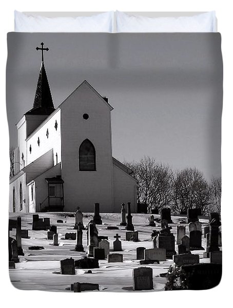 St. Joseph's Duvet Cover