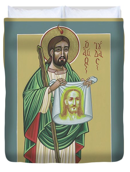 St Jude Patron Of The Impossible 287 Duvet Cover