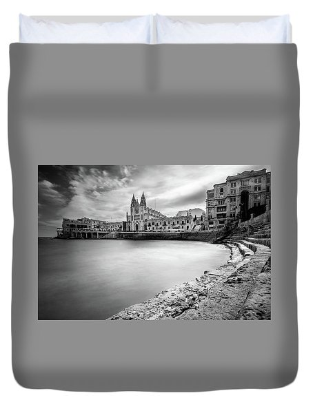 St. Julian's Bay Duvet Cover