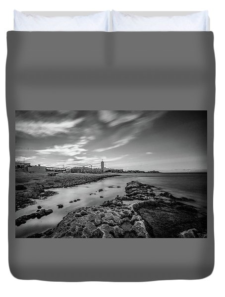 St. Julian's Bay View Duvet Cover