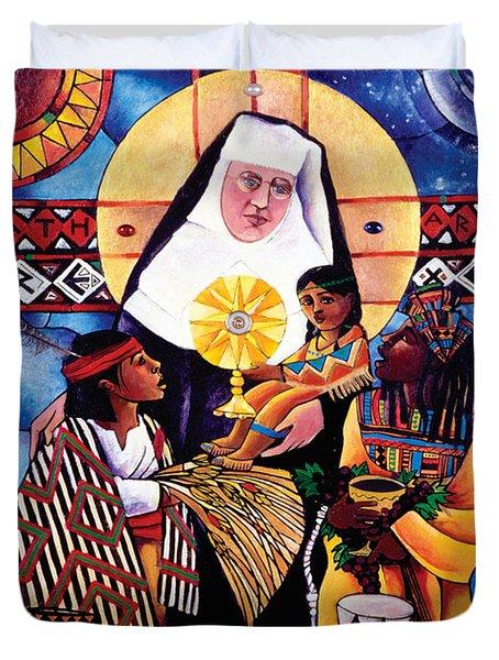 St. Katharine Drexel - Mmkdr Duvet Cover