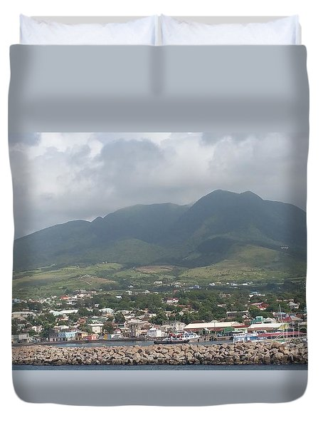 St. Kitts Color Duvet Cover
