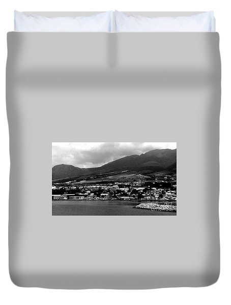 St. Kitts Beautiful Caribbean Island  Duvet Cover