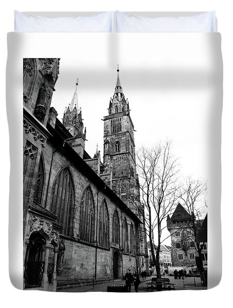 St. Lorenz Cathedral Duvet Cover