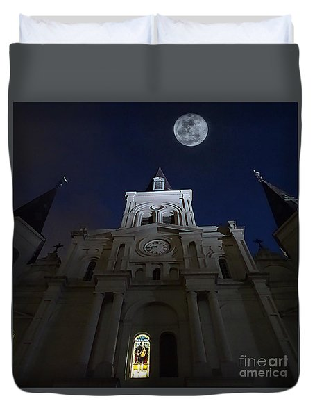 St. Louis Cathedral  Duvet Cover