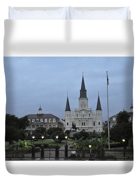 St. Louis Catherderal Duvet Cover