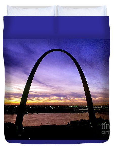 St. Louis, Missouri Duvet Cover