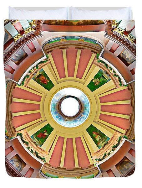 St Louis Old Courthouse Dome Duvet Cover