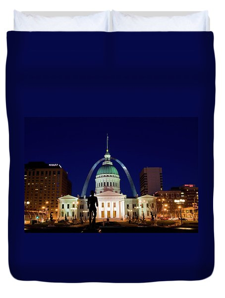 St. Louis Duvet Cover