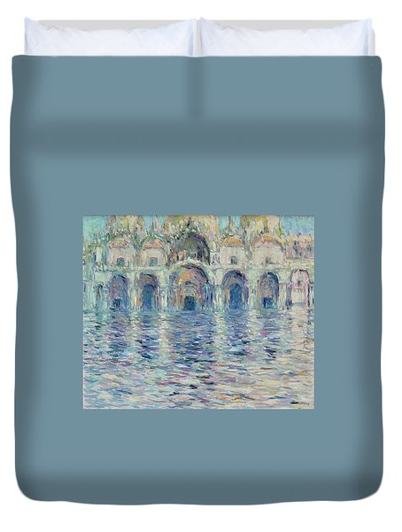 st-Marco square- Venice Duvet Cover