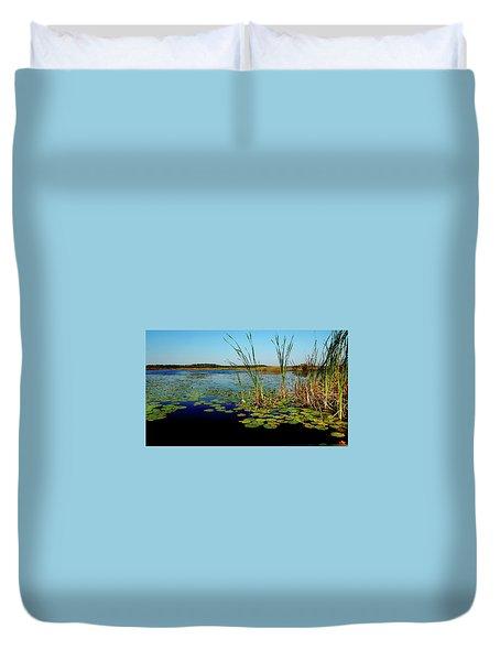 St. Mark's Lake Duvet Cover