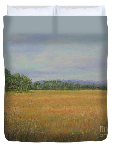 St. Marks Refuge I - Autumn Duvet Cover