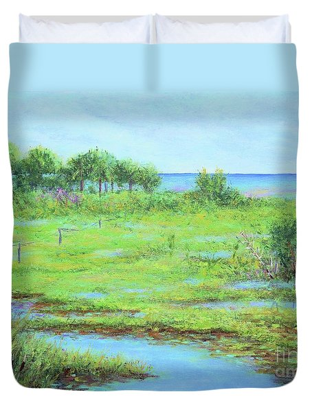 St. Marks Refuge I - Summer Duvet Cover