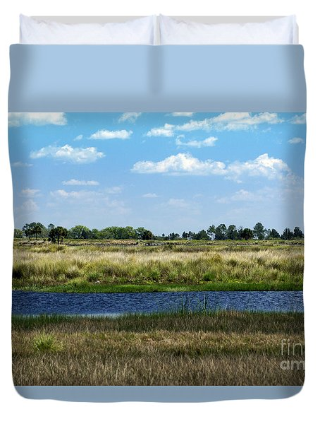 St. Marks Wildlife Refuge Duvet Cover