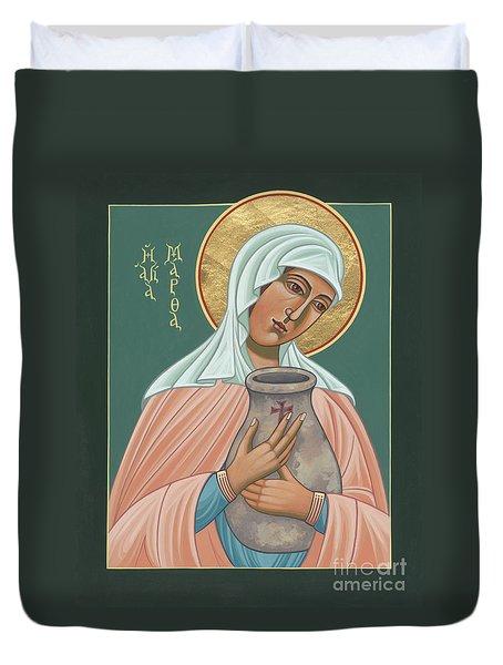 St Martha Of Bethany  Duvet Cover
