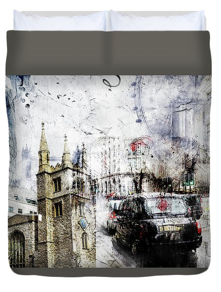 St Mary Axe Duvet Cover