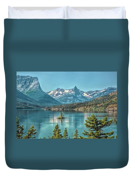 St Mary Lake Duvet Cover