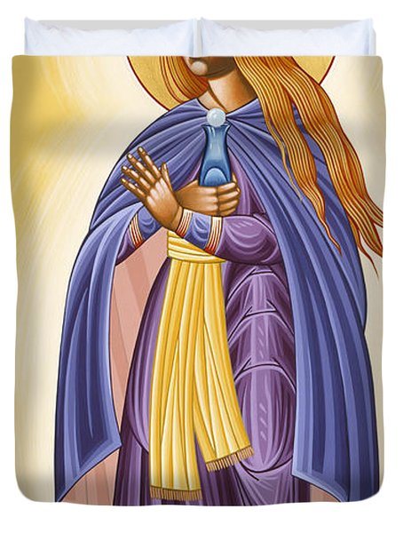 St Mary Magdalen Equal To The Apostles 116 Duvet Cover