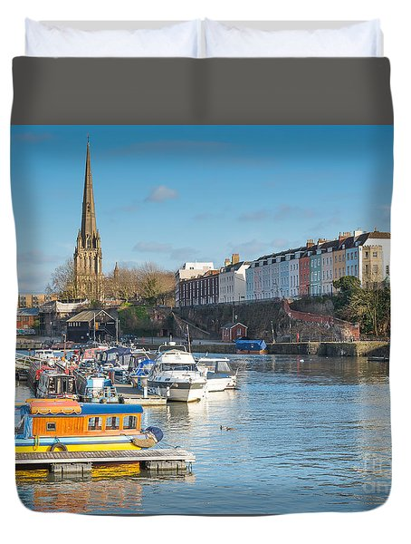 St Mary Redcliffe Church, Bristol Duvet Cover