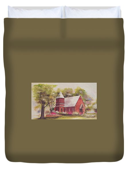 St. Mary's Chapel Duvet Cover by Charles Roy Smith