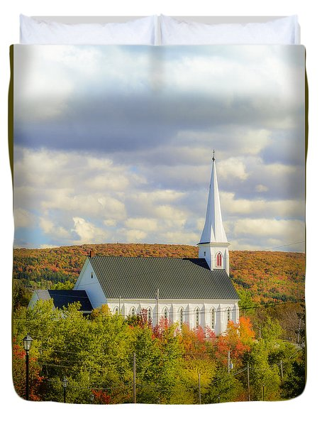St Mary's Roman Catholic Church Duvet Cover
